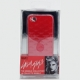 Lady Gaga Hard Case Romance Rood voor iPhone 4/ 4S
