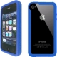 iLuv EDGE Silicon Bumper Case Blauw voor iPhone 4/ 4S