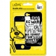 LostDog Protective Skin Kit Wanted Zwart voor Apple iPhone 4/ 4S