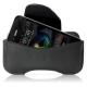 Skech Leder Beschermtasje SK4020 Zwart voor Apple iPhone 4/ 4S