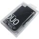 SwitchEasy Leder Beschermtasje Duo Zwart voor iPhone 4/ 4S