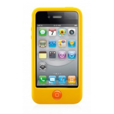 SwitchEasy Colors Protection Case Geel voor iPhone 4/ 4S