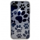 DS.Styles TPU Silicon Case Doggy Series Wit voor iPhone 4/ 4S