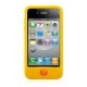 SwitchEasy Colors Protection Case Geel voor iPhone 4