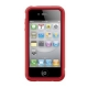 SwitchEasy Case Trim Rood voor iPhone 4