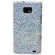 DS.Styles Hard Case Zirconia Series Zilver voor Samsung i9100 Galaxy S II